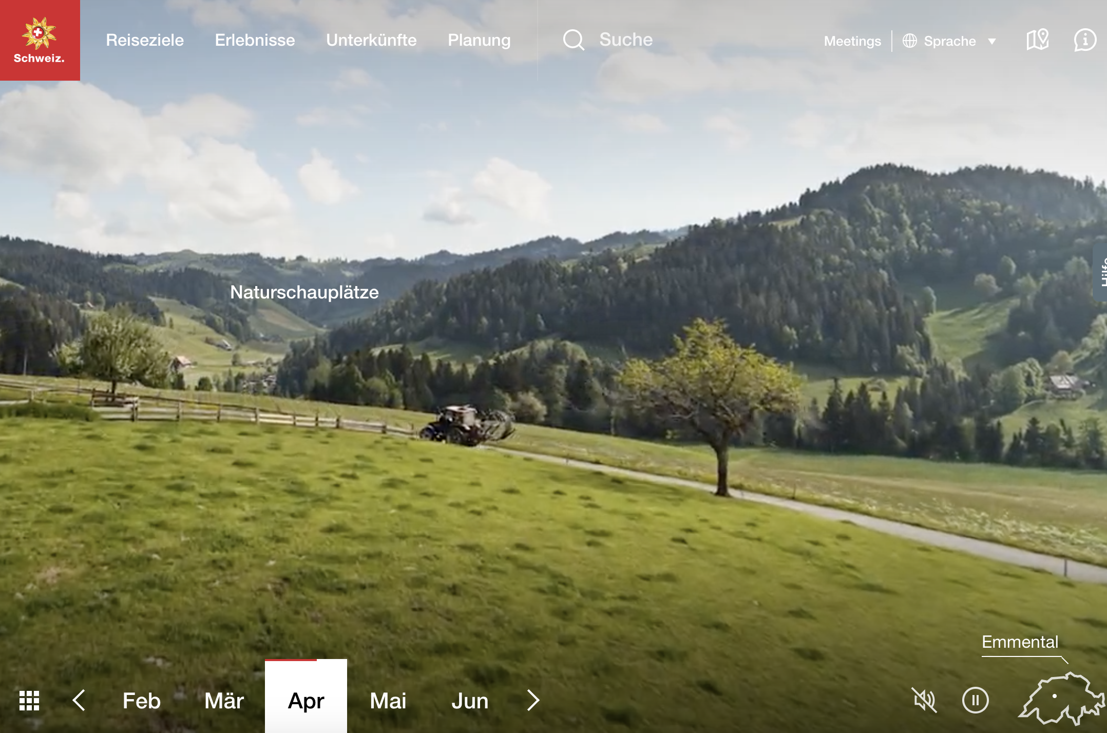 Kundenerlebnis My Switzerland Emmental